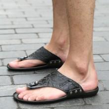 [PRE-ORDER] Men PU England Sandals Flip-Flops