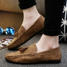 [PRE-ORDER] Men Casual Tassel Camp Mocs Loafers Shoes