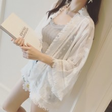 [PRE-ORDER] Women Chiffon Thin Beach Cardigan