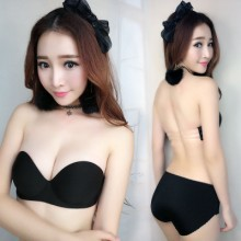 [PRE-ORDER] Women Sexy Push Up Concentrate Nu Bra Set
