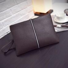 [PRE-ORDER] Men Business Envelope Soft PU Handbag