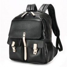 [PRE-ORDER] Men Japanese PU College Student PC Laptop Backpack