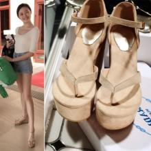 [PRE-ORDER] Women Korean High Heels Sandals Wedges
