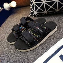 [PRE-ORDER] Men Casual Velcro Sandals Flip-flops