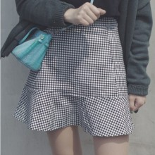 [PRE-ORDER] Women Korean Design Lattice Skirts