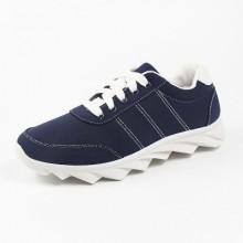 [PRE-ORDER] Men Lace Canvas Denim Running Sport Shoes