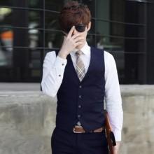 [PRE-ORDER] Men England Formal Jacket Suits Vest