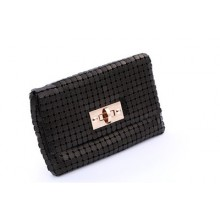 [PRE-ORDER] Women Shinny Zipped Dinner Clutch