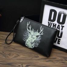[PRE-ORDER] Men Cool Printed Graphic Handbag