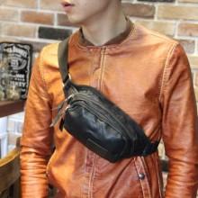 [PRE-ORDER] Men PU Leather Shoulder Bag