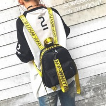 [PRE-ORDER] Women Ribbon Small Outing Casual Backpack