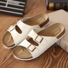 [PRE-ORDER] Men Women Couple Buckle Flip-Flop Sandals