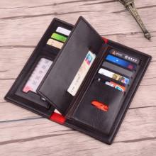 [PRE-ORDER] Men PU Leather Three Flip Large Capacity Wallet