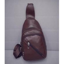 [PRE-ORDER] Men PU Leather Sling Shoulder Sling Cross-body Bag