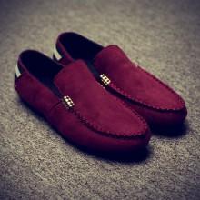 [PRE-ORDER] Men Plain Color Casual Loafer Slip-on Shoes