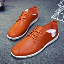 [PRE-ORDER] Men Mixed Color PU Leather Office Working Shoes