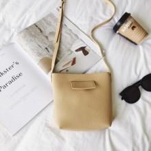 [PRE-ORDER] Women Bucket Retro Soft PU Leather Sling Cross-body Bag