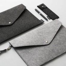 [PRE-ORDER] Men Felt A4 Size Document Handbag