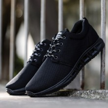 [PRE-ORDER] Men Breathable Lacing Up Sports Running Shoes