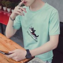 [PRE-ORDER] Men Cute Cartoon Round Neck T-Shirt