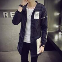 [PRE-ORDER] Men Korean Fashion Hooded Long Jacket