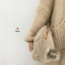 [PRE-ORDER] Women Korean Fur Clutches Casual Messenger Bag