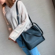 [PRE-ORDER] Women Shoulder Messenger Simple Plain Handbag Sling Bag