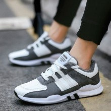 [PRE-ORDER] Men Korean Velvet Padded Cotton Student Sport Shoes