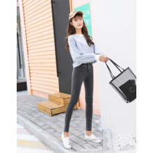 [PRE-ORDER] Women Casual Office Woking Slim Fit Pencil Trousers Jeans