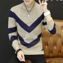 [PRE-ORDER] Men Winter Long-Sleeved Round Neck Arrow Sweater T