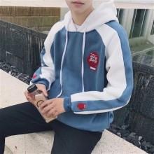 [PRE-ORDER] Men Stripes Logo Sweater Hooded Long Sleeves Sports Jacket