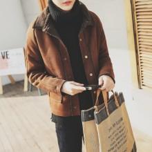 [PRE-ORDER] Men Korean Wool Cashmere Thick Coat Jacket