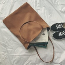 [PRE-ORDER] Women Large Simple Retro High-capacity Shoulder Bag