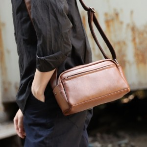 [PRE-ORDER] Men Pockets Casual Retro Street Style Shoulder Bag