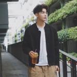 [PRE-ORDER] Men Loose Varsity Jacket