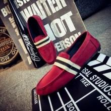 [PRE-ORDER] Men England Stripe Simple Casual Shoes