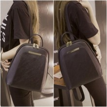 [PRE-ORDER] Women PU Student Casual Backpack