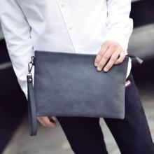 [PRE-ORDER] Men PU Business IPAD Envelope Handbag
